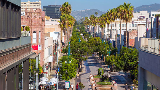 Downtown Santa Monica / Third Street Promenade