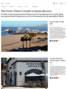 The First-Timer's Guide to Santa Monica