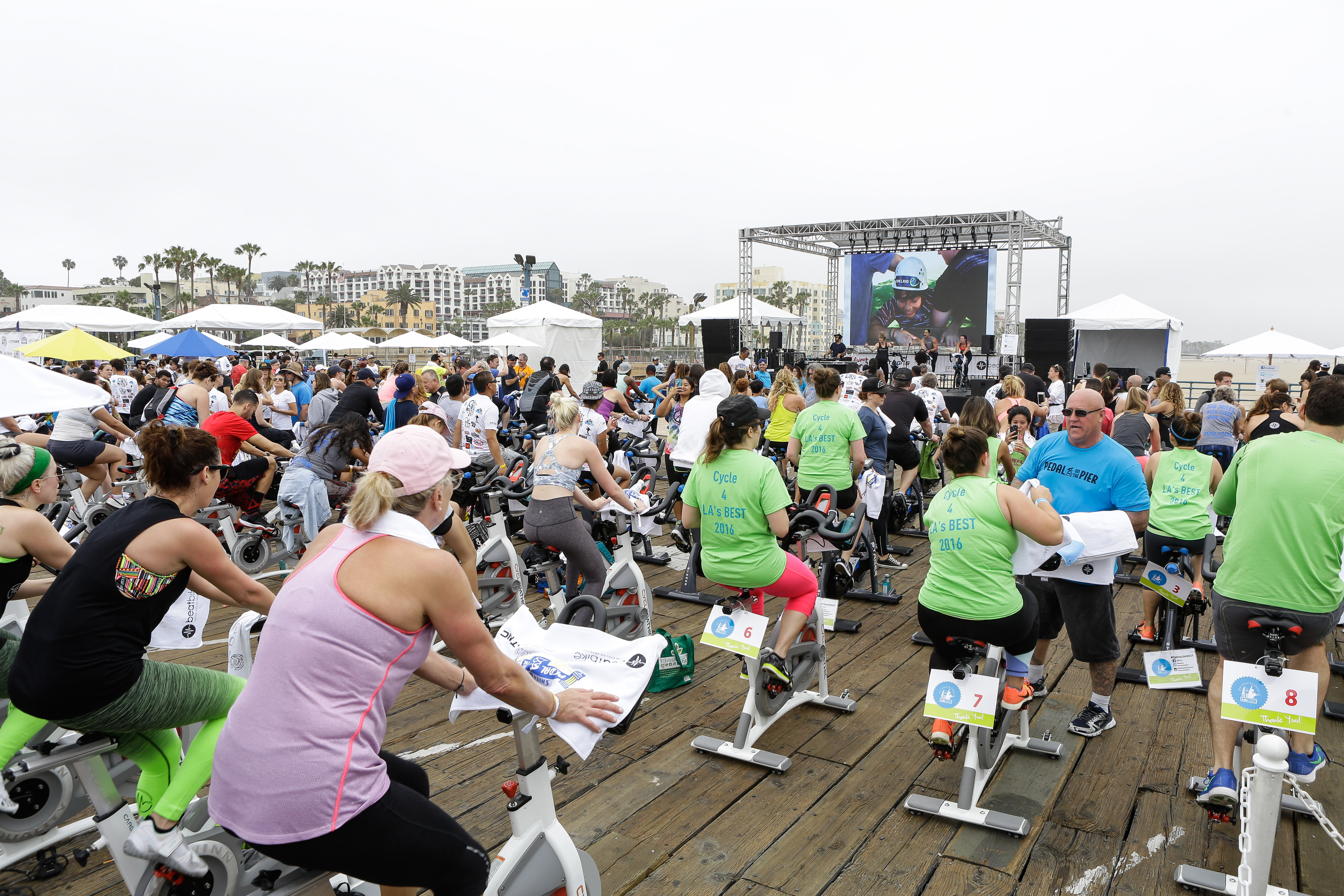 Pedal on the Pier