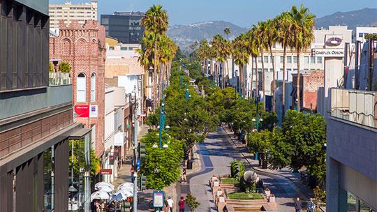 Third Street Promenade >> Downtown 3rd Street Promenade Santa Monica Promenade