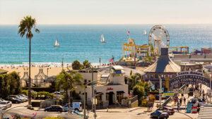 Santa Monica Pier Area/Ocean Avenue