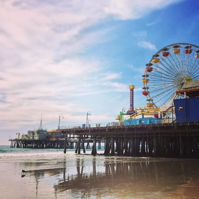 Santa Monica Pier_Instagram
