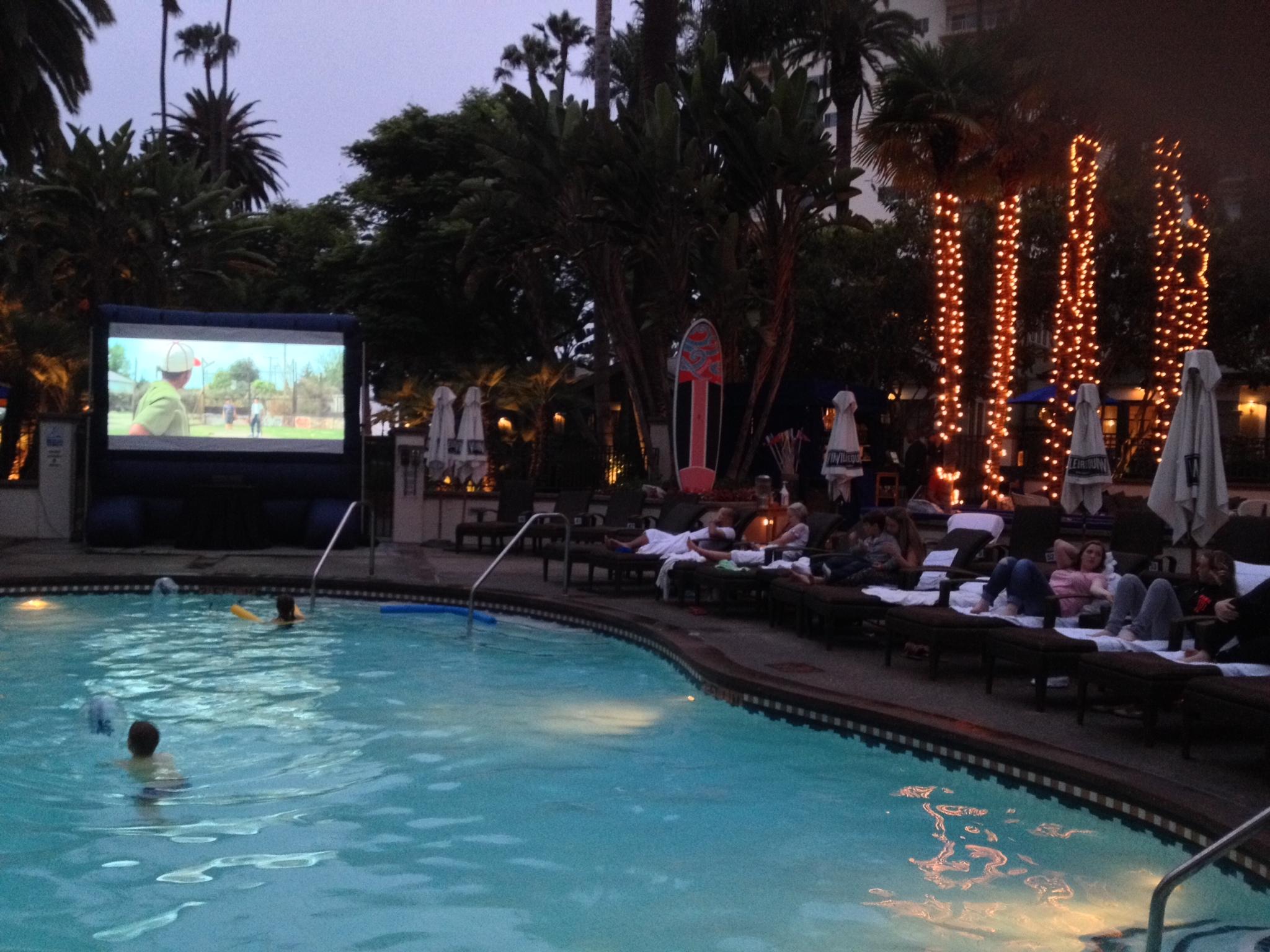 Starry Night Poolside Cinema At The Miramar Pool Club