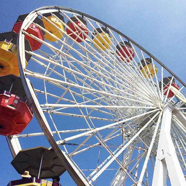 Pacific Park Santa Monica Pier Amusement Park