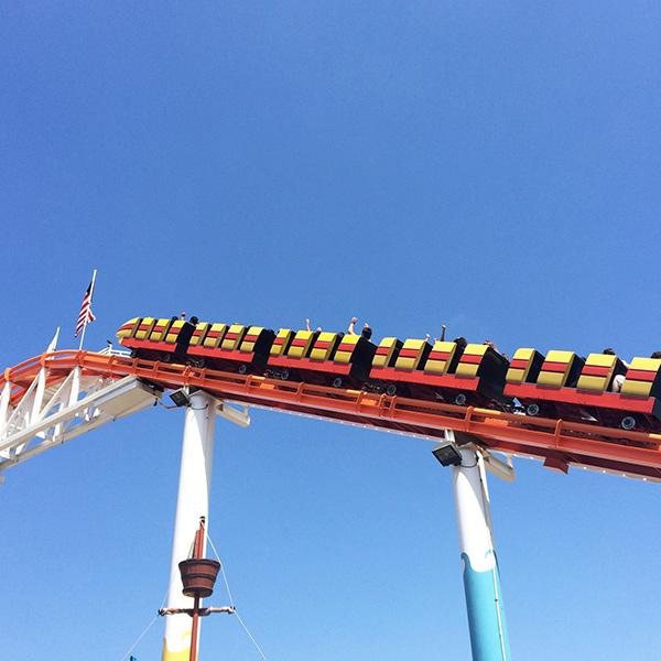 West Coaster roller coaster