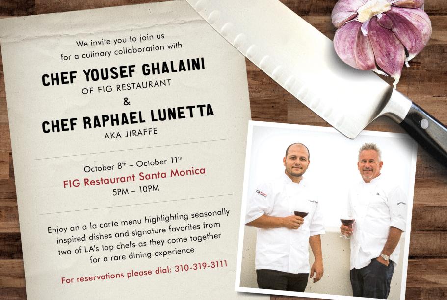 Fig Santa Monica Welcomes Jiraffe S Chef Raffa Into Their