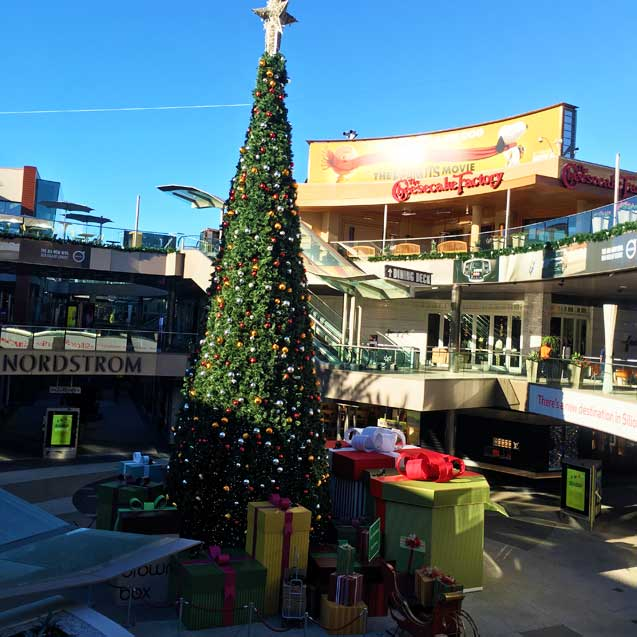 Santa Monica Place Christmas Tree