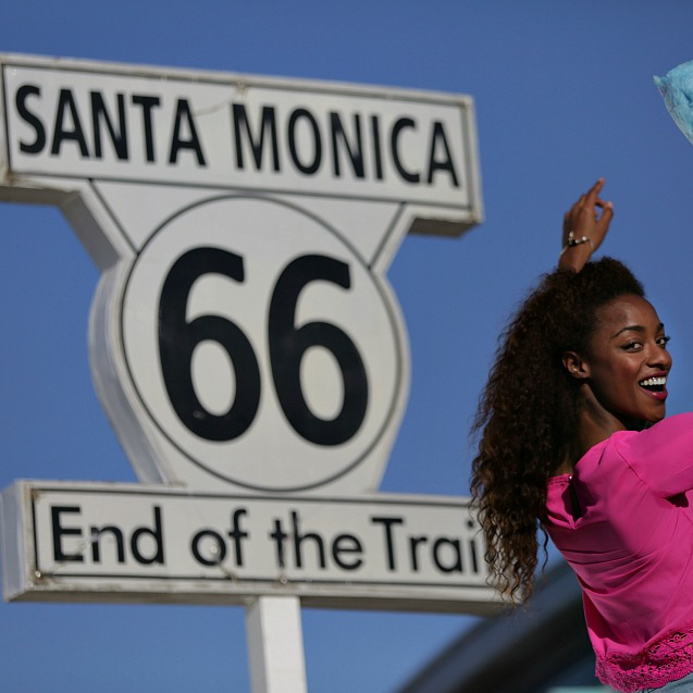 Route 66 End Point