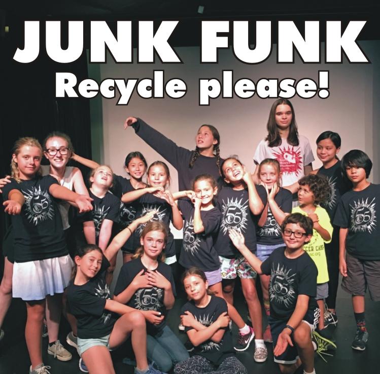 JUNK FUNK: Kids Present Eco-Friendly Theatre