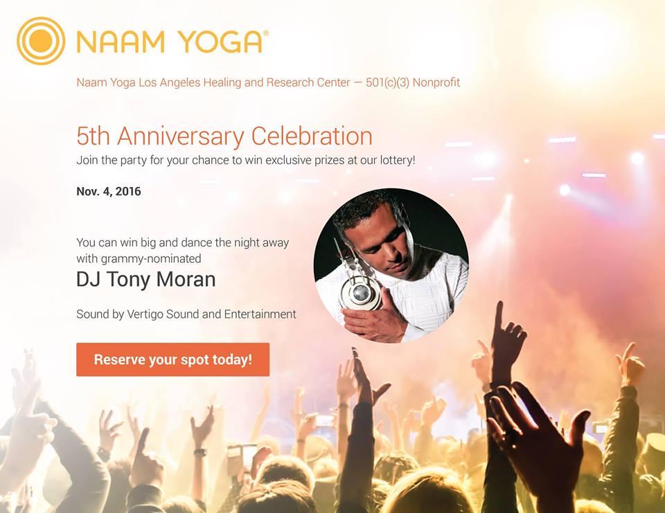 Naam Yoga 5th Anniversary Celebration | Visit Santa Monica