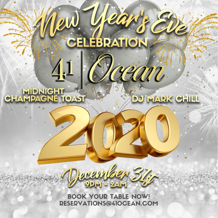 New Year's Eve at 41 Ocean
