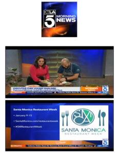 KTLA 5 Morning News Santa Monica Restaurant Week