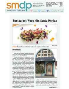 Santa Monica Daily Press - SM Restaurant Week