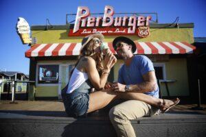 Pier Burger on Santa Monica Pier