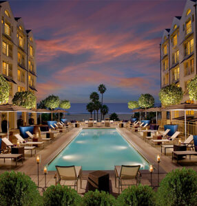 Unwind at These Santa Monica Hotel Pools