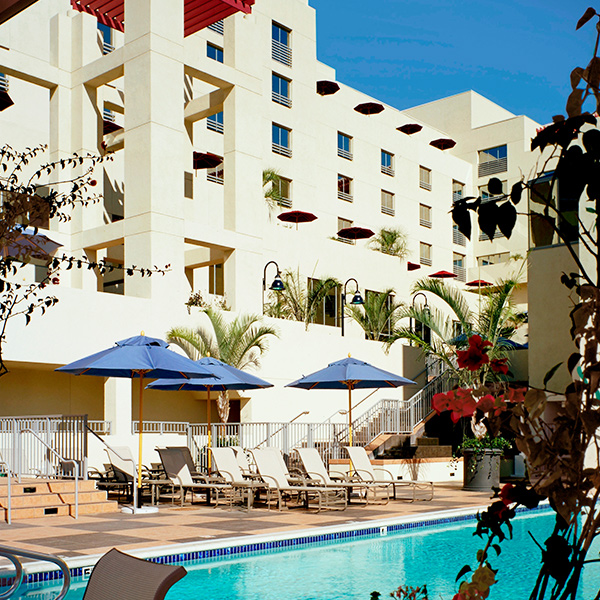Pool at JW Marriott Santa Monica Le Merigot