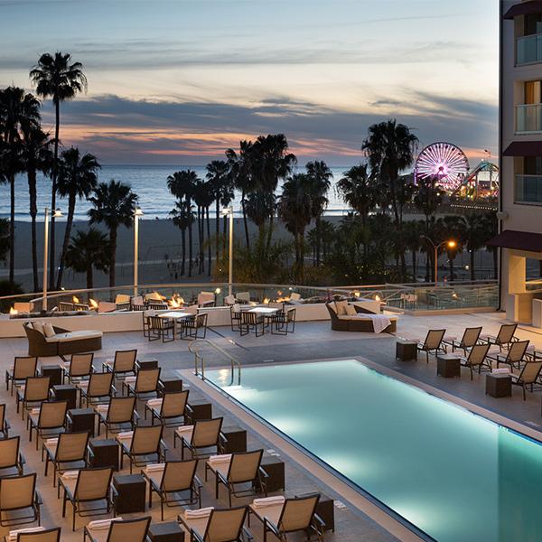Pool at Loews Santa Monica Beach Hotel