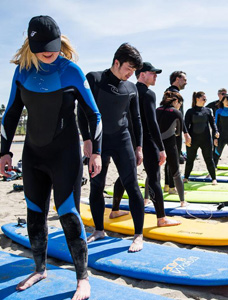 Learning-to-surf-in-Santa-Monica