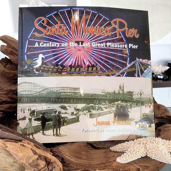 Santa Monica Pier book