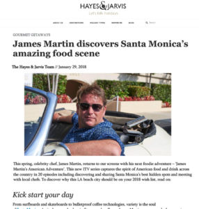 James Martin discovers Santa Monica's amazing food scene