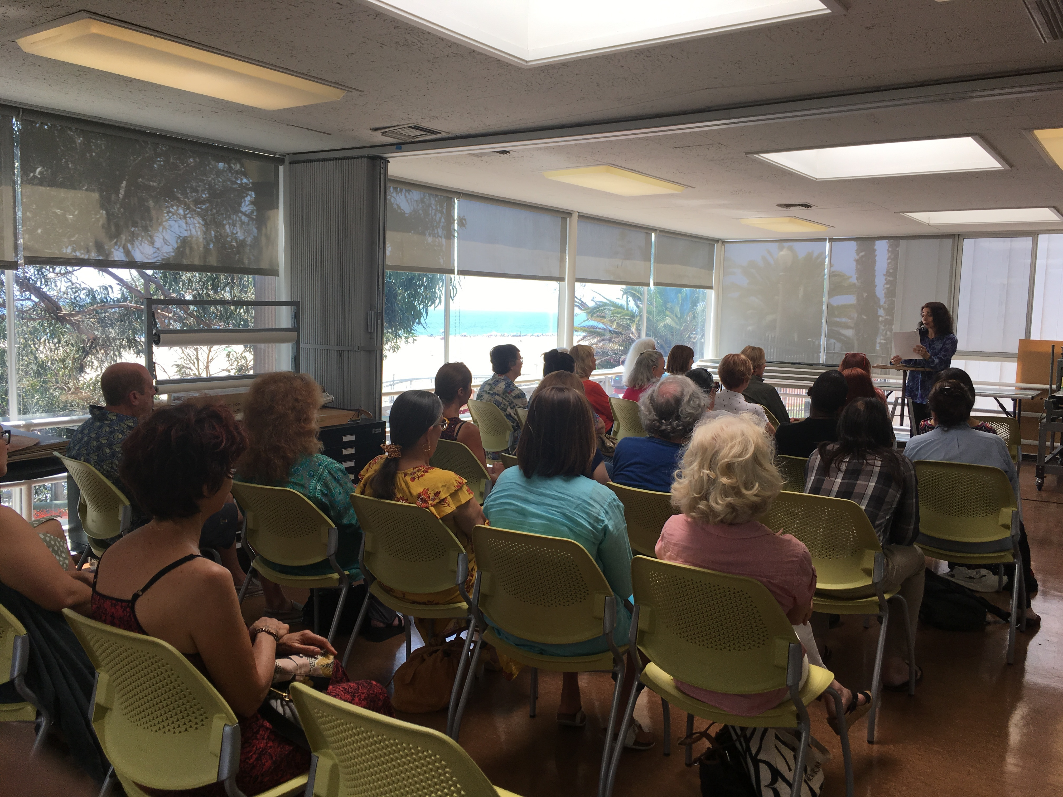 Poetry Loves Art Reading And Prompts With Dinah Berland Santa Monica