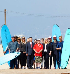 Congressman Ted Lieu Champions Tourism and Celebrates Surfing at Roundtable Event in Santa Monica
