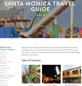 Best of Santa Monica by Bike