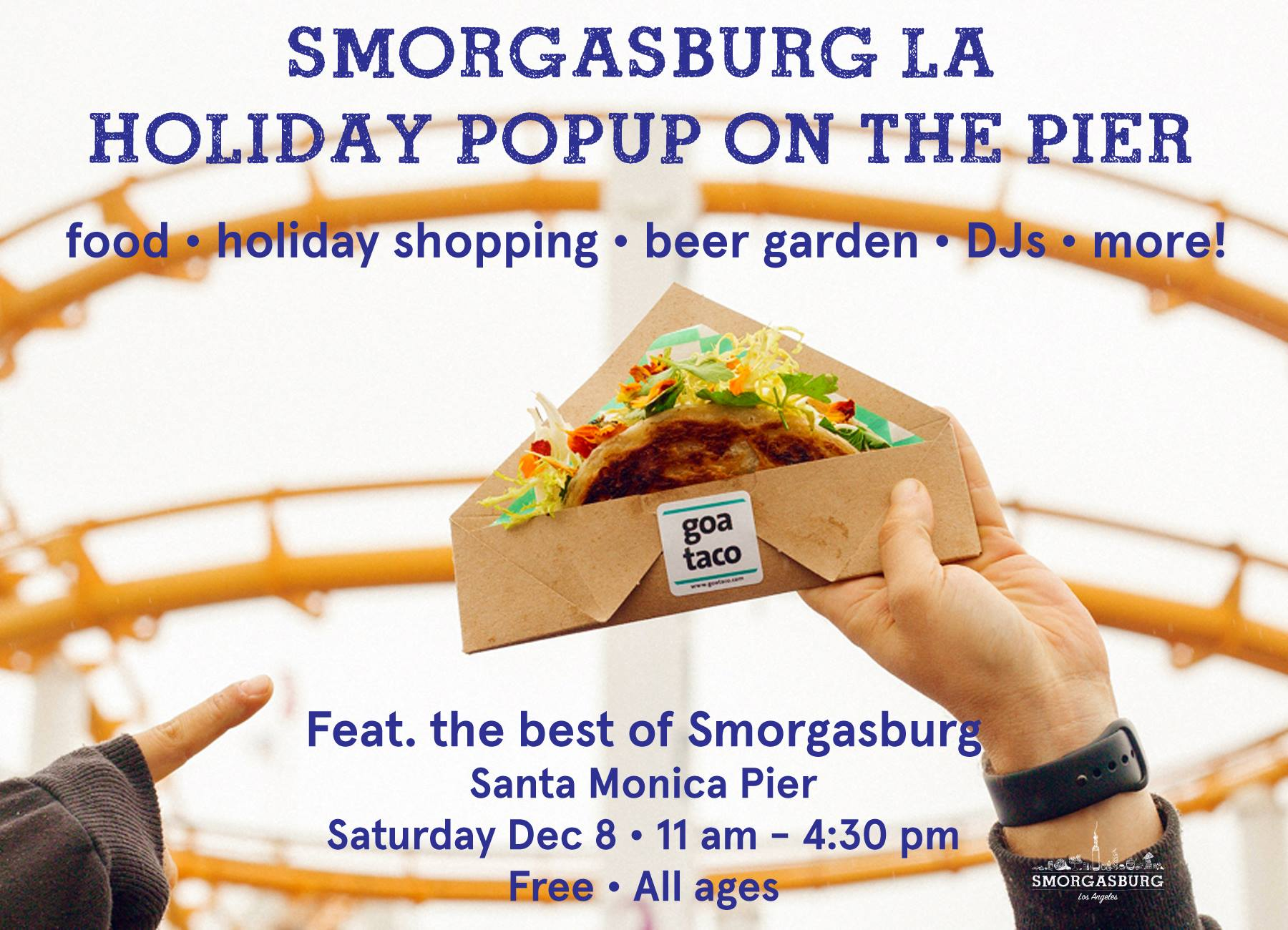 Smorgasburg LA Holiday Pop-Up on the Pier