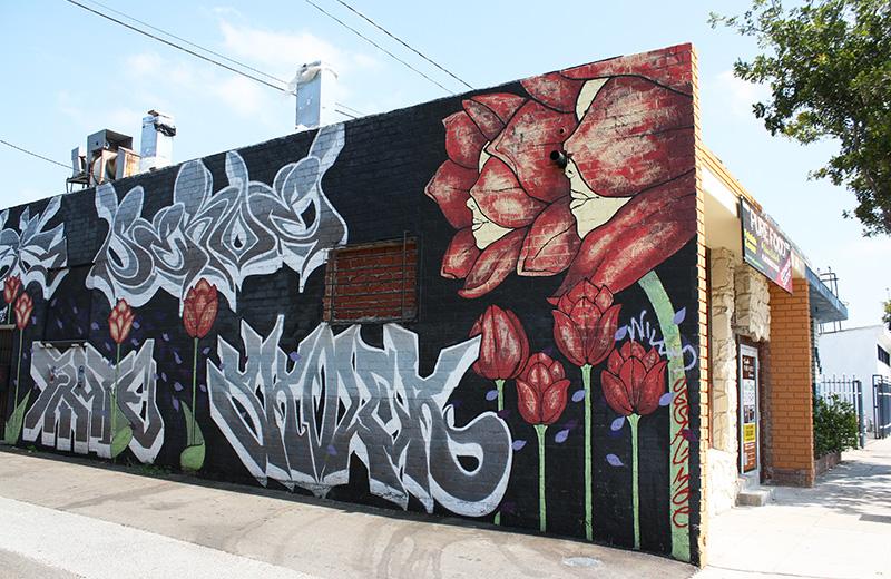 Grafitti mural