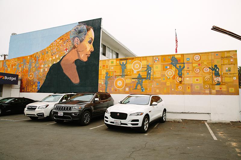 Guardian mural