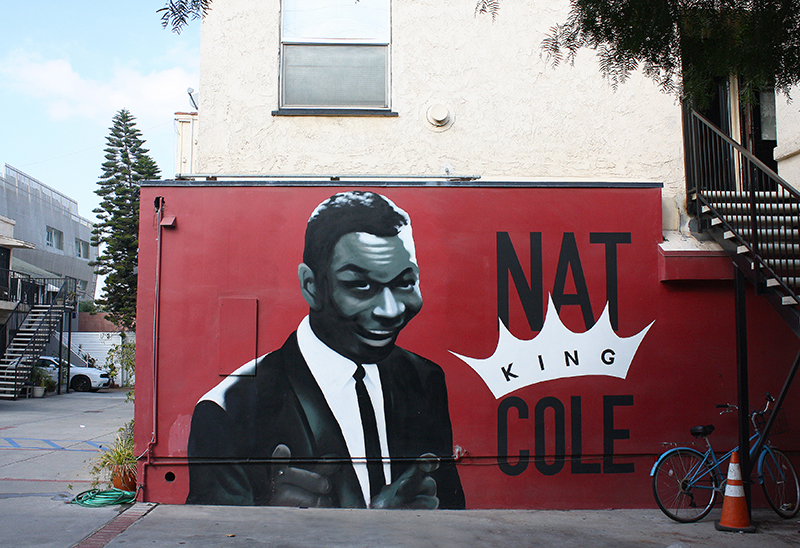 Nat King Cole mural