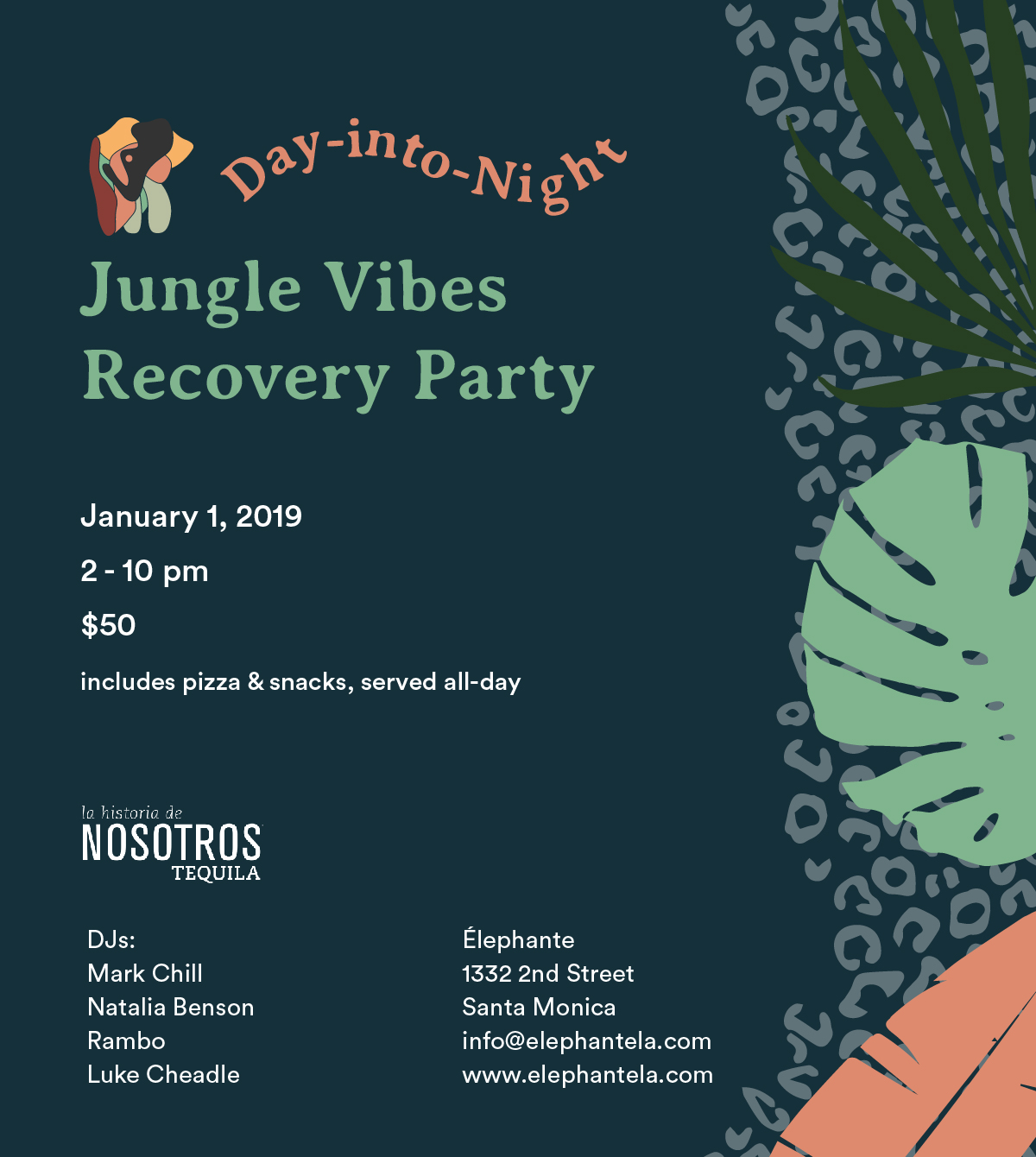 Élephante's Jungle Vibes Recovery Party