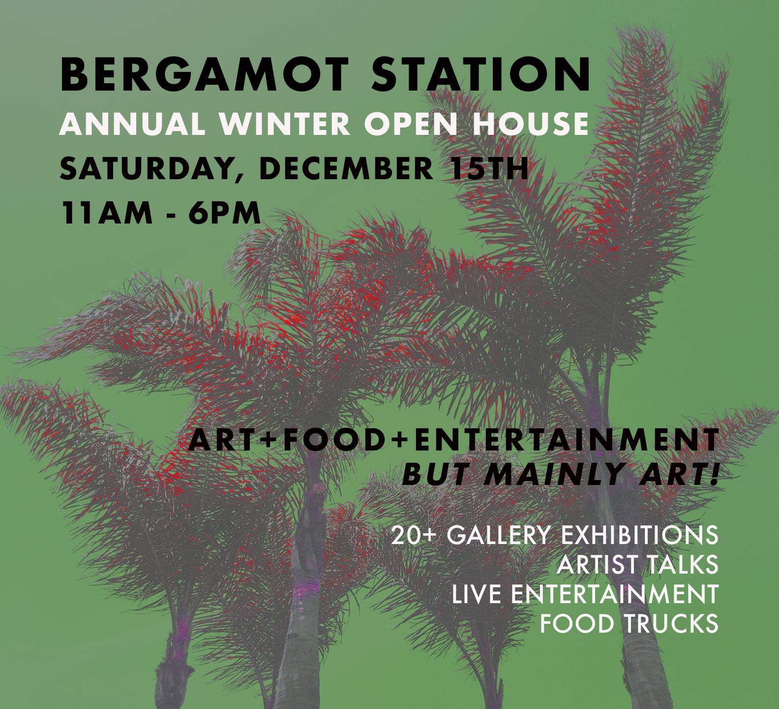 Bergamot Station's Winter Open House