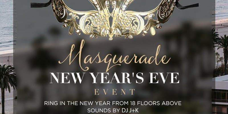 Masquerade New Year's Eve Party at The Penthouse