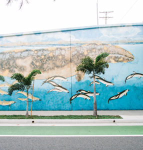 Street Murals: Ocean Park Blvd/Santa Monica Airport Area