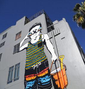 Street Murals: Wilshire Boulevard