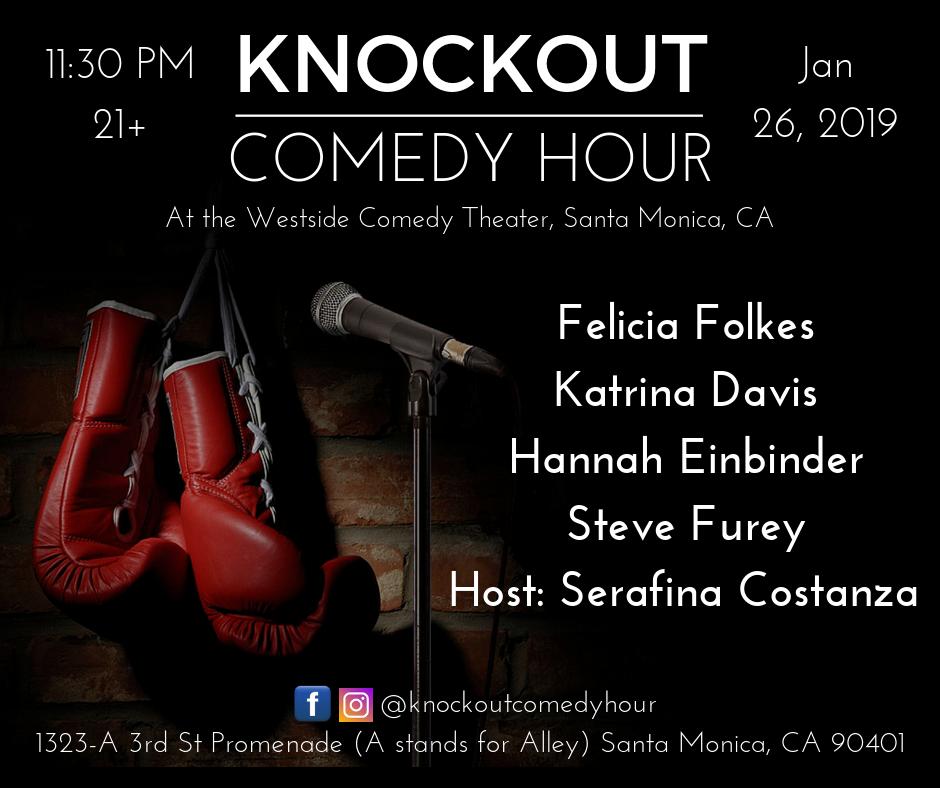 3rd Street Promenade Hours >> Knockout Comedy Hour Santa Monica