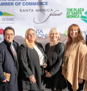 SANTA MONICA'S TOURISM INDUSTRY HONORED WITH ECONOMIC EXCELLENCE AWARD