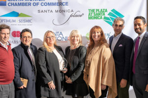 Local thought leaders gather to celebrate the success of Santa Monica's tourism industry.