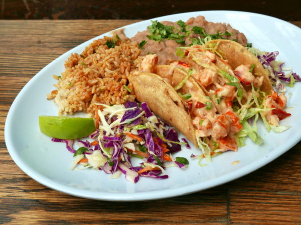 Blue Plate Lobster Tacos