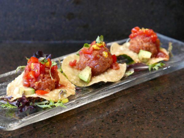 Kanpai Spicy Tuna Tacos