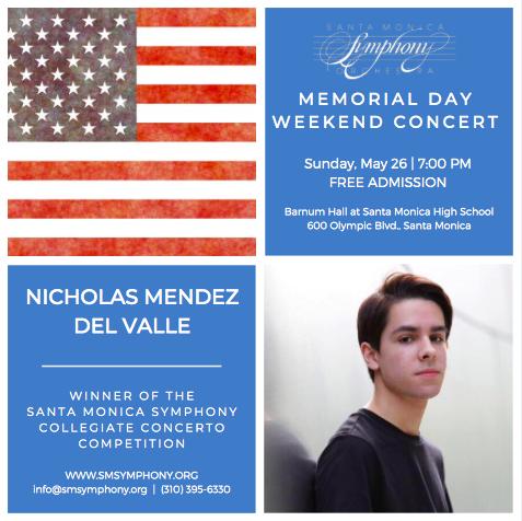 Memorial Day Weekend Concert