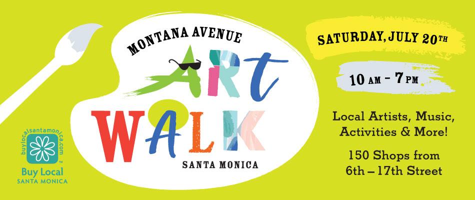 Montana Avenue Art Walk 2019