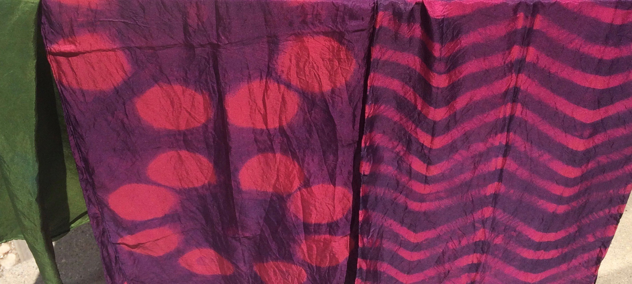 Natural Dyeing: Overdyeing Patterns with Griffin Dyeworks