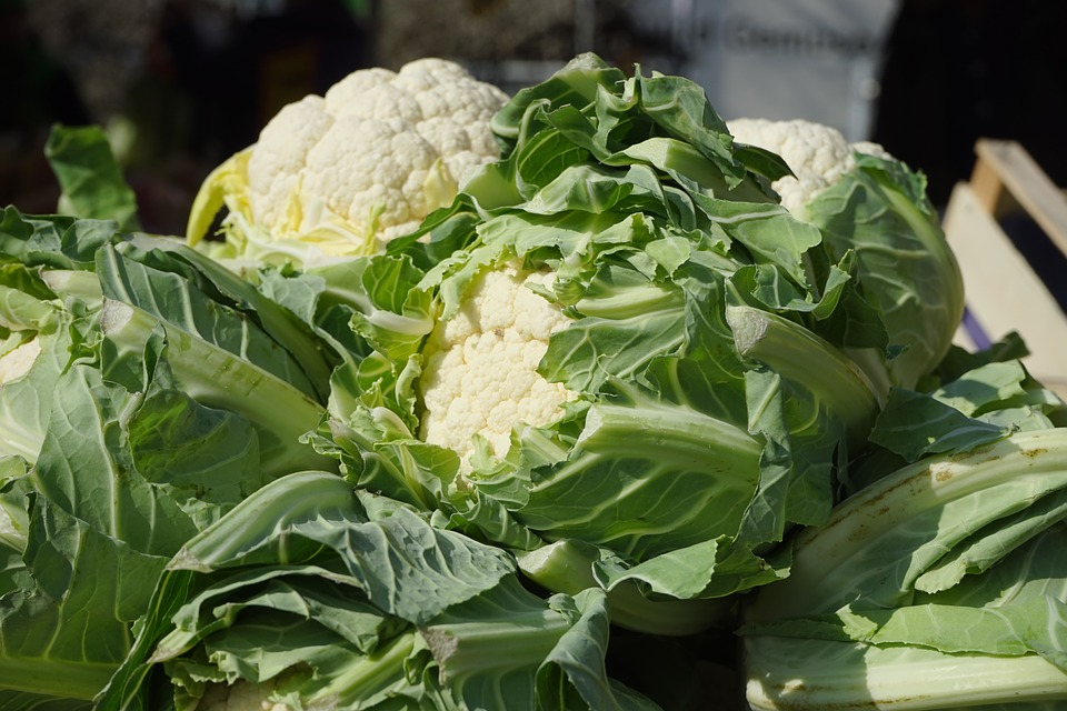 LA Farmers Market Cauliflower