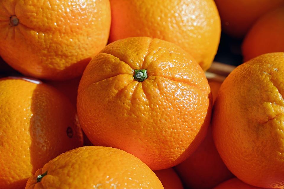 LA Farmers Market Oranges