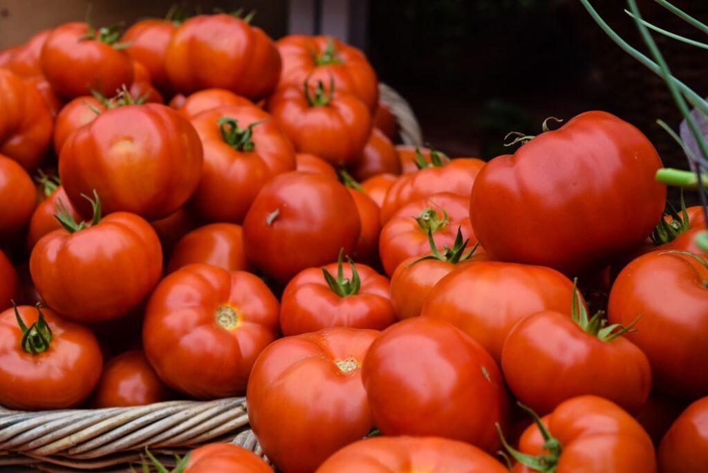 LA Farmers Market Tomatoes