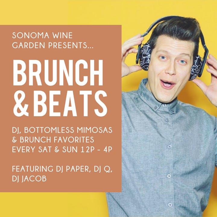 Brunch & Beats at Sonoma Wine Garden
