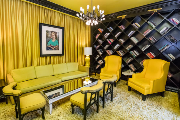Viceroy Hotel library