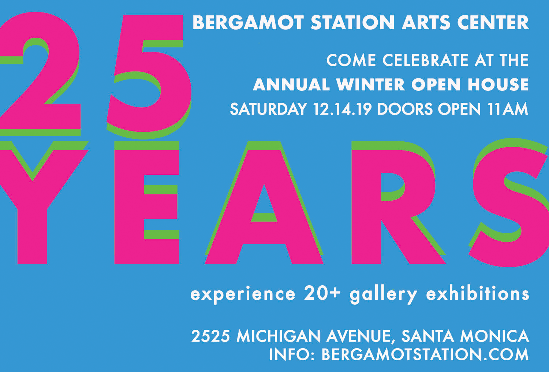 Bergamot Station Art Center's Winter Open House + 25th Anniversary Celebration